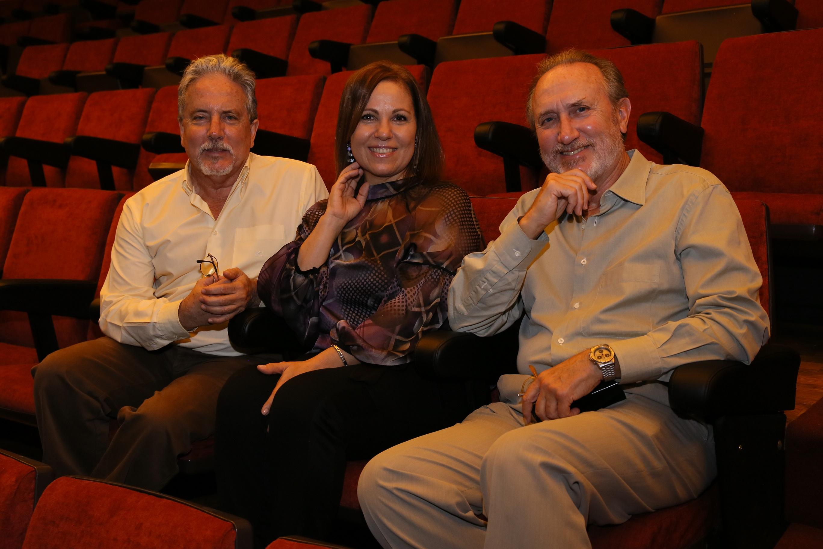 Dolores Hernández entrevistó a Teodoro y Santiago Ríos el 2 de diciembre de 2015, en el cine Víctor Foto:  Fran Santos