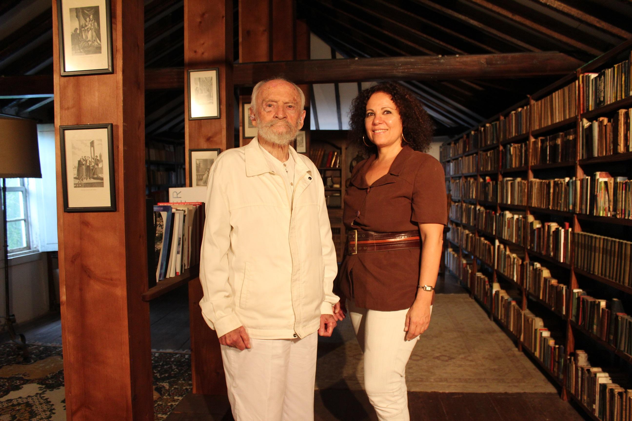 Dolores Hernández con Carlos Pinto Grote