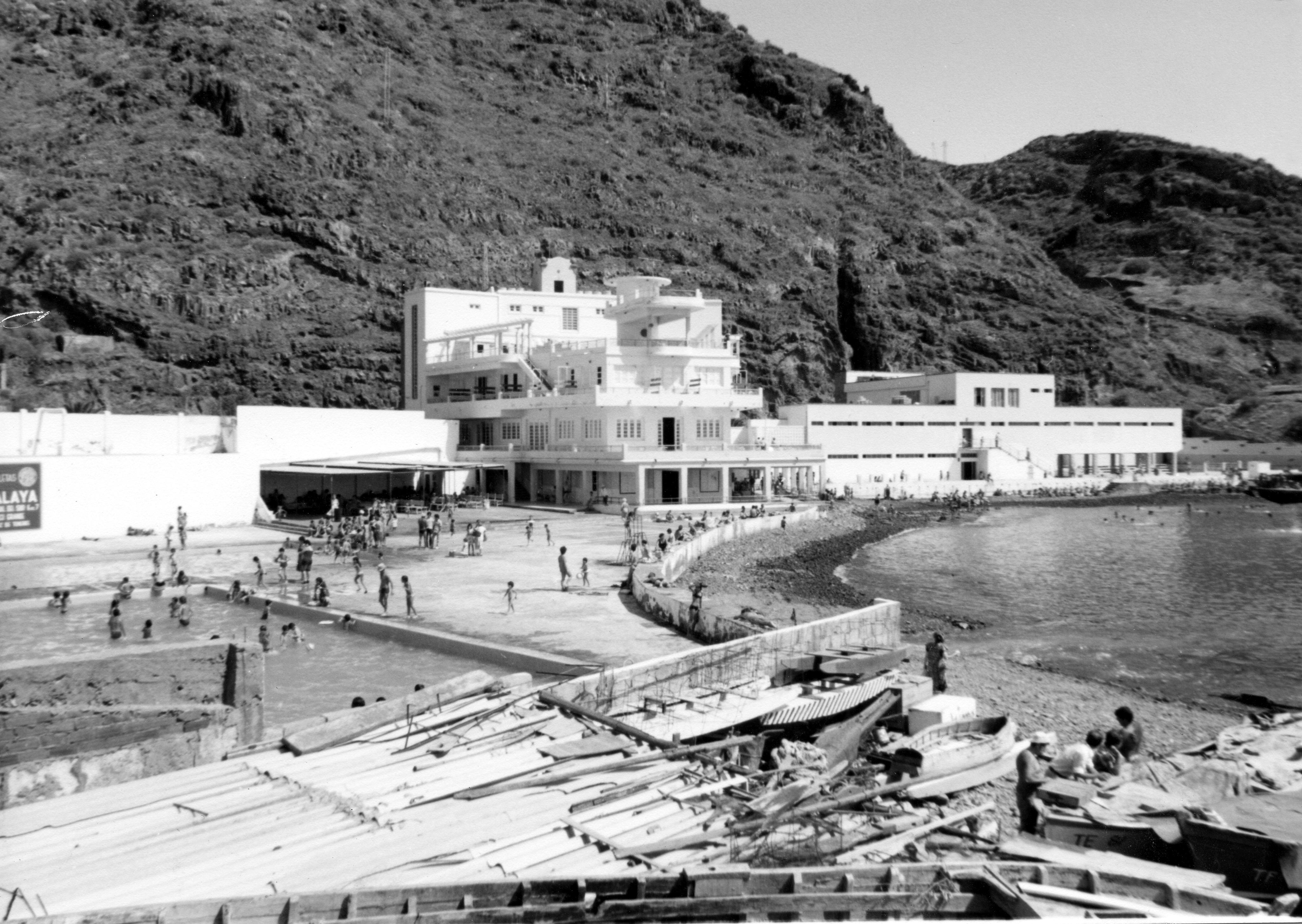 El Balneario de Santa Cruz y sus aledaños
